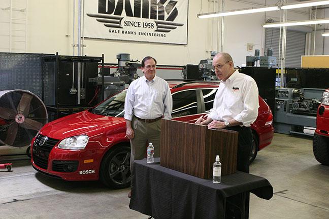 Senator Bob Huff and Gale Banks