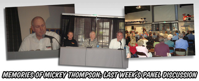 Mickey Thompson event at NHRA Museum