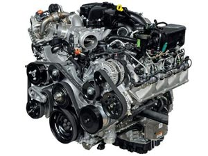new Ford 6.7L Power Stroke engine