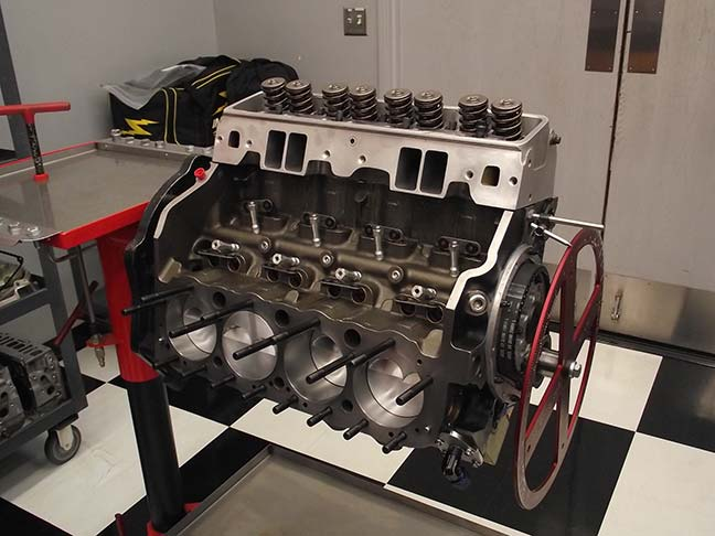 Banks' Studebaker engine in the