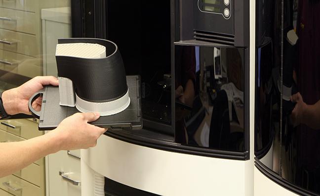 rapid prototype machine at Banks Power