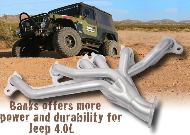 Jeep 4.0L header