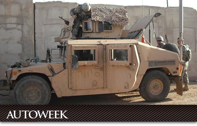 Gale Banks Humvee program