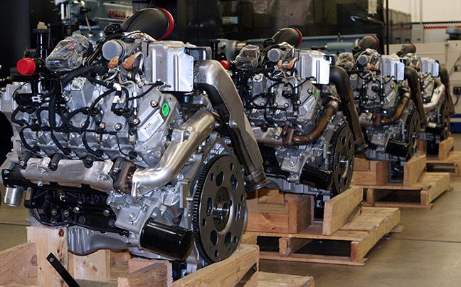 Duramax engines at Banks