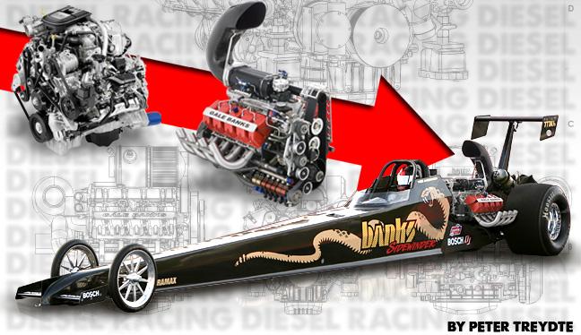 racing with diesel engines