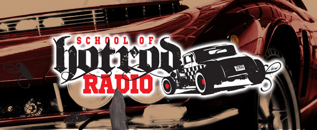 Gale Banks on the School of Hot Rod Radio show