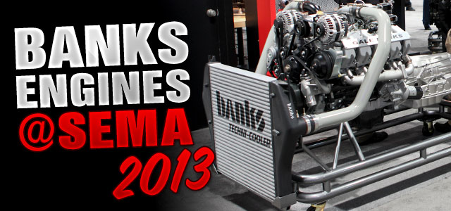 Gale Banks Engineering displays powertrain solutions at SEMA Show 2013