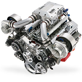 Banks Gen II SBC Sidewinder® Twin-Turbo Gasoline Engine