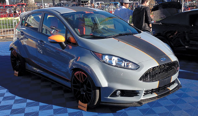 2014 Ford Fiesta ST built by Bojix Design