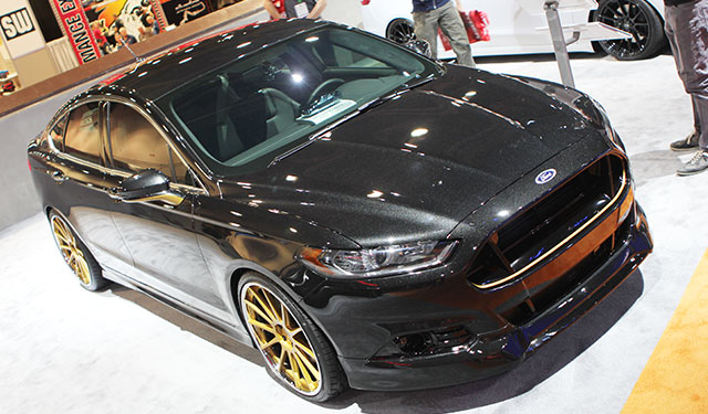 2013 Ford Fusion Titanium AWD built by DSO Eyewear/MAD Industries