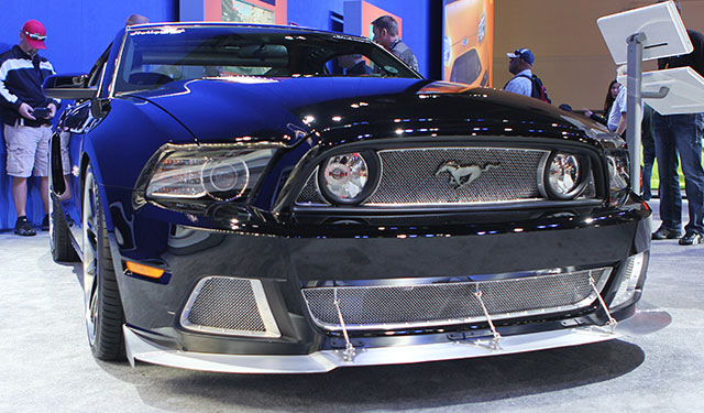 2014 Mustang GT Convertible built by Hollywood Hot Rods