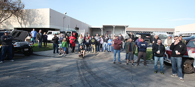 Fans and customers visit the Banks PowerHouse