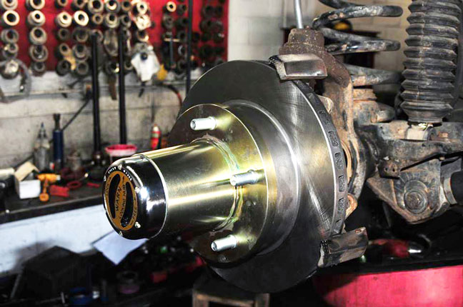 Yukon Gear 30-spline locking hub