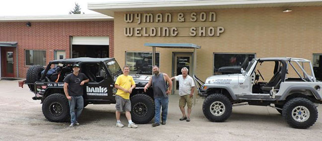 Stopped by Wyman and Son Welding shop in North Platte, Nebraska