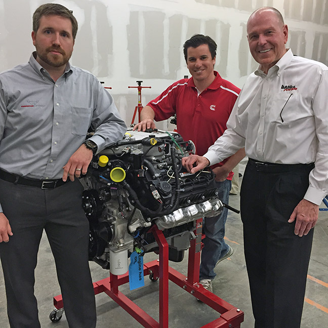 Nissan and Cummins and Banks