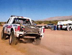 Banks Powered Race Truck