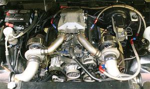 Banks Rat Rod engine
