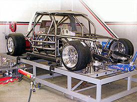 Road-race diesel frame