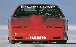 Banks' twin-turbo Trans-Am