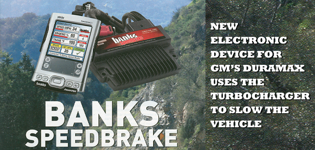 New Electronic Device For GM's Duramax Uses The Turbocharger To Slow the Vehicle