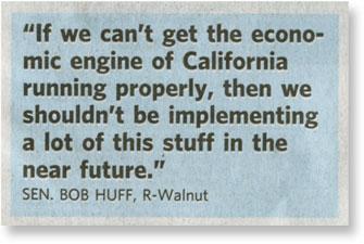 Senator Bob Huff quote