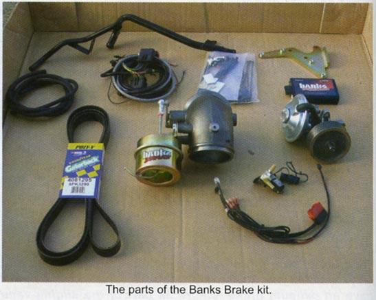 Banks Brake contents
