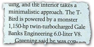 Banks twin-turbo