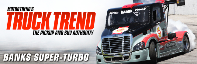 Semi Truck: Banks Freightliner Super Turbo Pikes Peak Truck