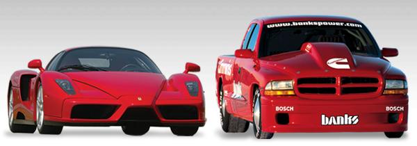 Sidewinder Dakota vs. Ferrari Enzo