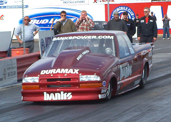 Banks Sidewinder Duramax S-10 set the National Association of Diesel Motorsports