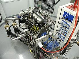 Banks Sidewinder Dakota engine on the Dyno